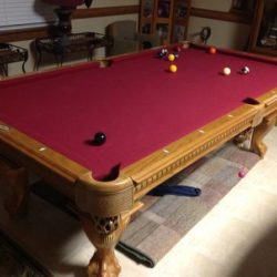 """Professional"" American Heritage Pool Table"