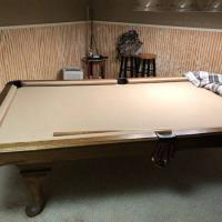 Steepleton True Slate Pool Table