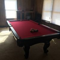 8 ft Augusta Pool Table In Perfect Condition